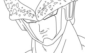 Perfect Cell Closeup_WIP by carapau