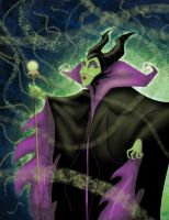 The Magnificent Maleficent... by DouggieDoo