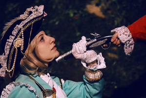 Pirate!France cosplay random by odHINAbo