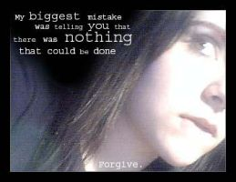 Forgive. by MallyB