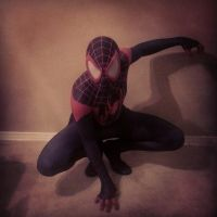 miles morales ultimate spiderman cosplay by ultimateEman