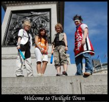 Welcome to Twilight Town by Castle-Oblivion-UK