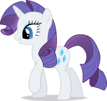 Rarity vector art no bkgd by tensaioni