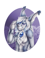 Himeira Bust by LadyKuraiArt