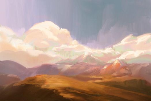 Pastel Afternoon by allisonchinart