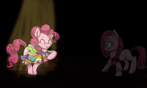 Pinkie meets.. by Monkeyzilla