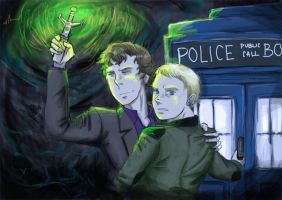 Sherlock is the Doctor by Radculas