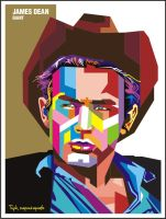 James Dean in WPAP by istikhar