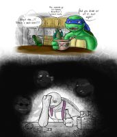 TMNT Donnie - Make me Forget by Dragona15