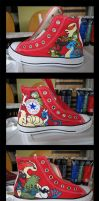 Pokemon Shoes by ev1lmunchk1n