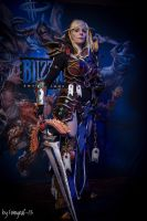 Blood elf paladin WoW by xAtashix