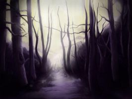 deep forest by koffinkandy