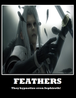 Sephiroth demotivational 1 by SephycatedEveryNight