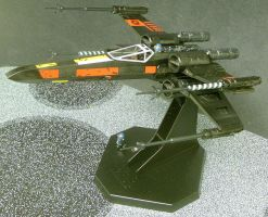 Black X-wing by Roguewing