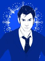 David Tennant as The Doctor by AlesiaHigdon