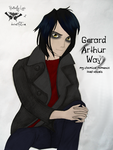 .gerard way. by Butterfly-Logic