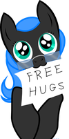 FREE HUGS by BlueYoukai