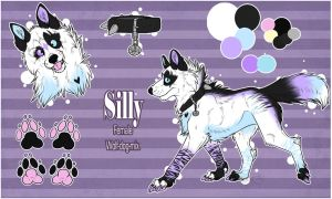 .: Silly's New Design Temp. Ref :. by SillyTheWolf