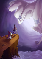 Kai/Lugia by Livious by Mysterious-Flame