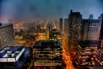 stormy Chicago night revisited by delobbo