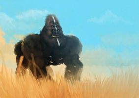 mutant gorilla by unded
