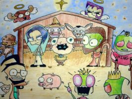 IZ Nativity of Doom by cassiethelobaXD