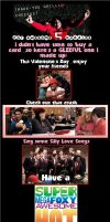 GLEE-ful Valentine's Card by ChadtheFab