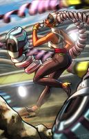 Twintelle by Zombie-Graves