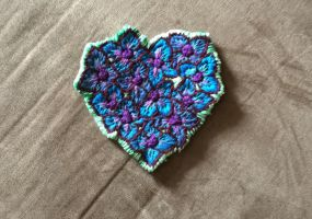 Embroidery update by Hearth-goddess
