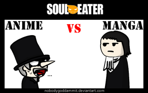 Soul Eater Anime vs. Manga : Mosquito by nobodygoddammit