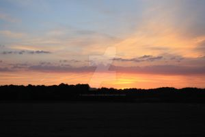 Sommer Sunset by lucilleDeLavour
