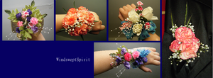 Corsage Collection by WindsweptSpirit