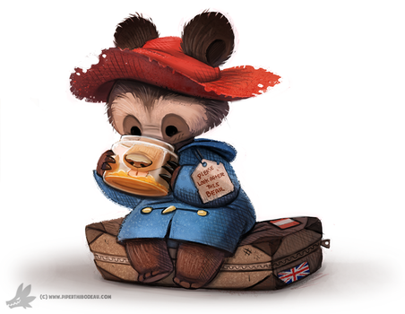 Day 788. Paddington Bear by Cryptid-Creations
