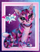 You can channel Lisa Frank too! by AleraianPrincess