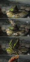 Shadow Warrior 2 Concept Art by Harpiya