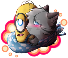 Love at First Minion -Gift- by Spottedfire-cat