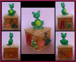 Frog jewerly box by AutumnNightBat