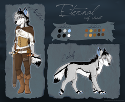 Official Eternal ref. sheet by SnowSnow11