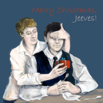 Jeeves and Wooster Xmas by hoofson