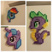 8 bit Ponies! by Samii-Doll