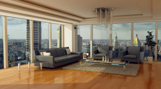 New York Living Space by Electra-Studios