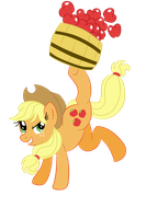 Applejack by to-lazy-for-username