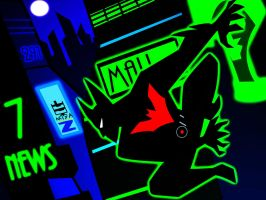 Batman Beyond Neo Gotham by bat123spider