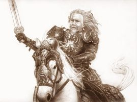 King Theoden by Rule404