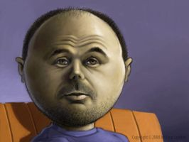 Karl Pilkington... by elunden
