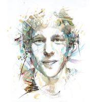Portrait of Jesse Eisenberg by Carnegriff