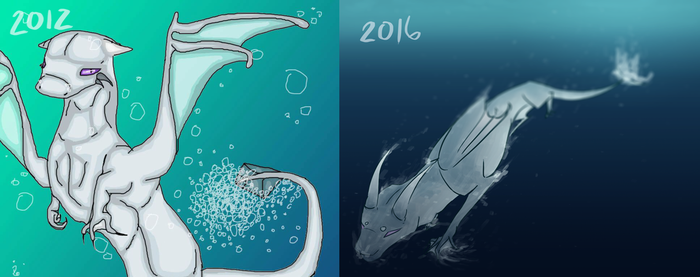 2016 Redraw of 2012 Art by chickiefootwo