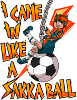 I Came In Like a Sakka Ball by malikkitsune