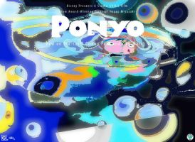Contest entry Ponyo by LaurieLefebvre