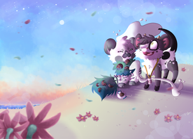 DTA COLLAB Entry 1: wHITE GRASS LANDDD by AuroraL1GHT